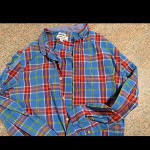 484696de9006 NEW Crown and Ivy long sleeve men's button up